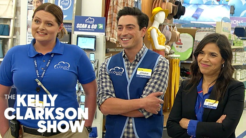 Kelly Surprises Music Teachers With 'Superstore' Set Visit The Kelly Clarkson Show