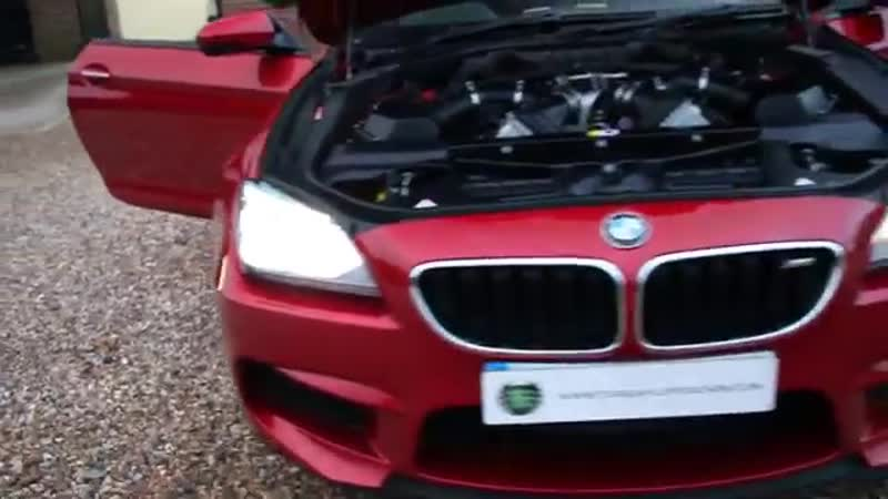 BMW M6 Coupe S63 4 4L 2dr DCT Automatic Coupe 2014 in Sakhir Orange