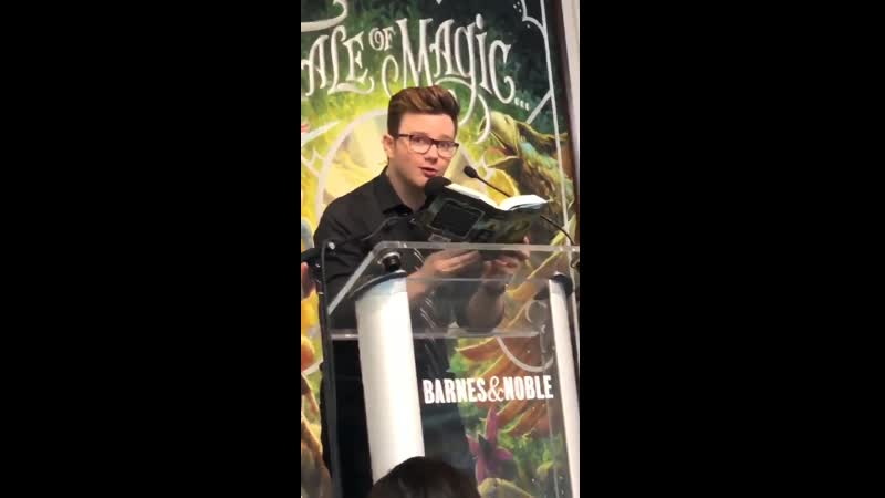 CHRIS COLFER | A TALE OF MAGIC BOOK TOUR | КРИС КОЛФЕР