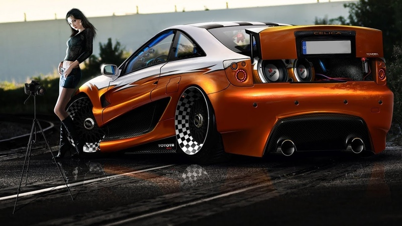 Need for Speed Underground 2 - Toyota Celica GT-S Sprint King - Tuning And Race