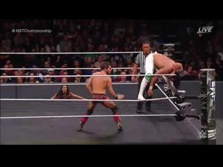 Johnny Gargano vs Andrade Cien Almas NXT Championship _ NXT TakeOver Philadelphi