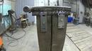 Самодельная наковальня Небольшая доработка Импровизированная колода из шпалы