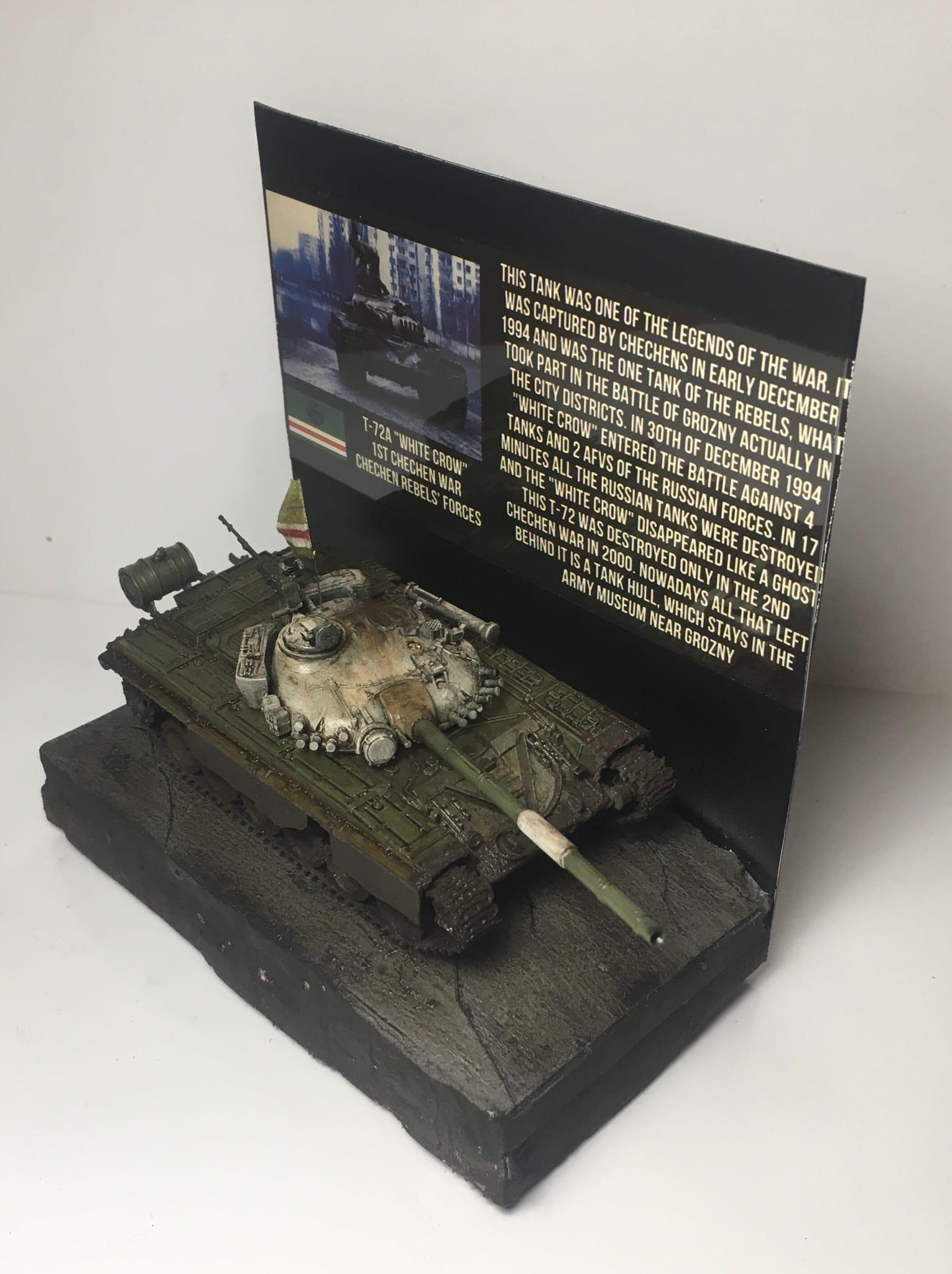 "Chechen T-72A ""White Crow"""