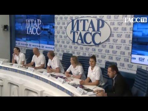 Пресс-конференция женской сборной России (6.06.2014)