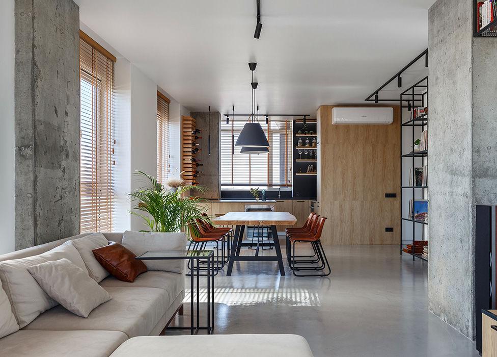 SVOYA Studio: квартира с необычной планировкой || 01