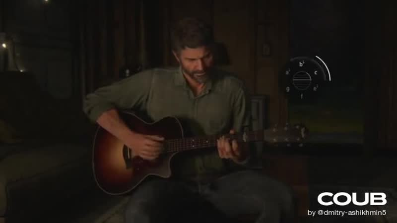 The Last of Us 2 Joel sings Future Days with guitar