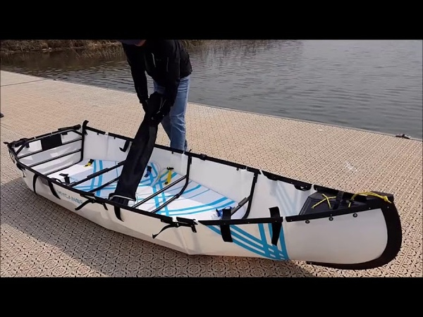 How to assemble Origami Folding Boat MYDINGHY 1 0 SD 95579