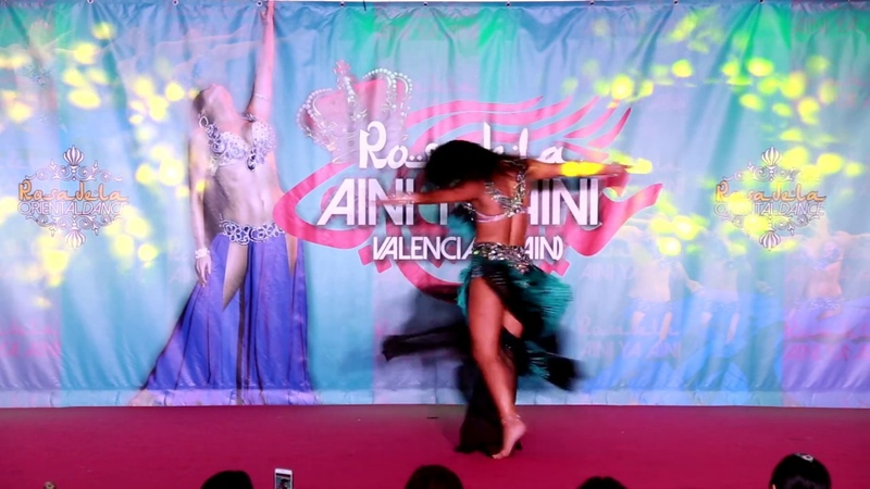 DARIYA MITSKEVICH 2019 AINI YA AINI Festival by Rosadela Valencia Spain
