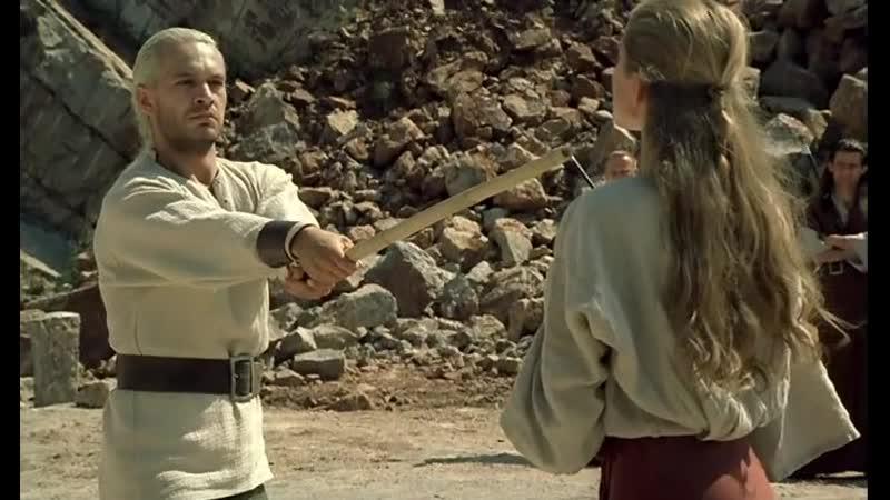 Бой на мечах. Показательный поединок