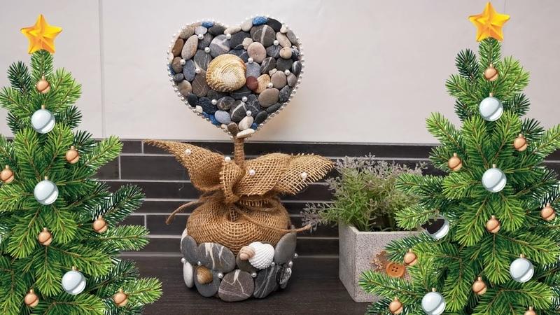 Stone topiary OLENA DIY diy handmade topiary
