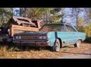Junkyard Gold 02 - Formula Firebird, '49 Woody и вэны из 60-х на свалке Bernardston Auto Wrecking! [Andy_S]