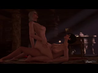 AWF DesireSFM SACRIFICE - CORRUPTION OF THE LODGE 3 - THE WITCHER FUTANARI X CIRI