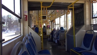 """Трамвай """"для опоздавшего пассажира"""" Петербурга 10-148:  (УКВЗ) б.5232 по №55 ()"""