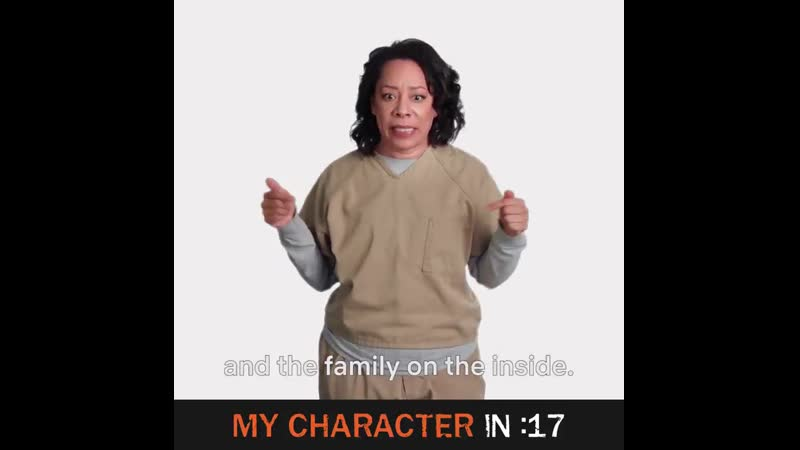 Uzo made her 30 second character recap about love and we were not ready. OrangeForever