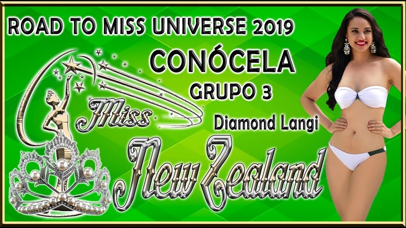 Miss New Zealand 2019 - Diamond Langi Conócela - Road To Miss Universe 2019