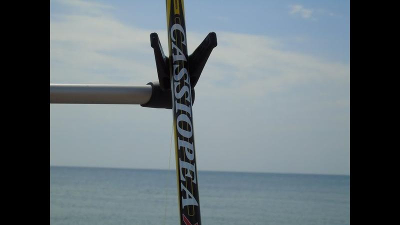 Серфовое удилище Trabucco Cassiopea XTR Surf. Ночные покидушки.