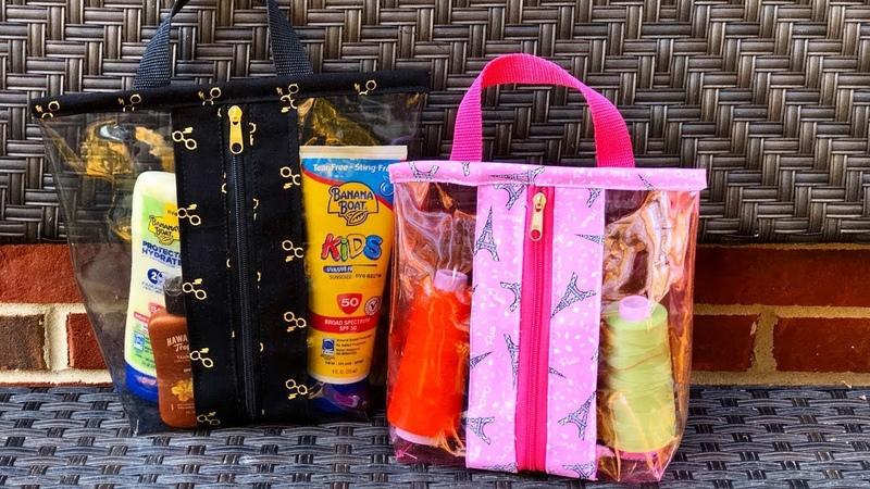 DIY Bolsa Transparente - DIY Plastic Bag | Aline Nunes - By Aaan Crafts