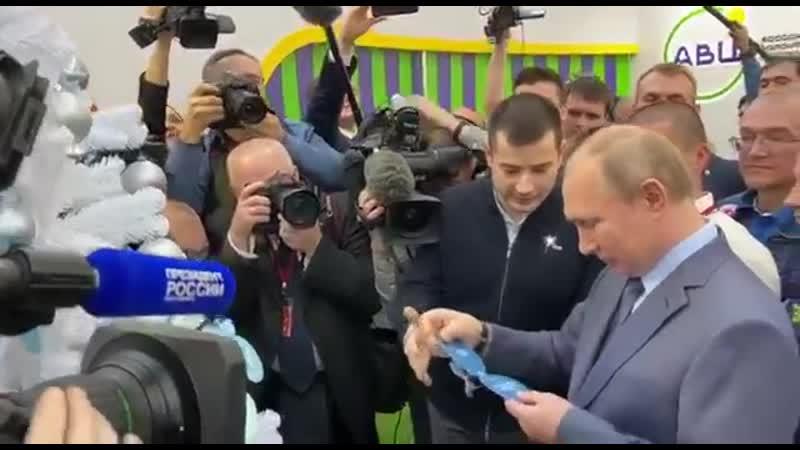 Президент России исполнит новогоднее желание ставропольского мальчика