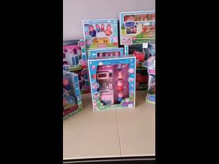 Большая весенняя распродажа игрушек Свинка Пеппа, Три кота, мимимишки, герои в масках.