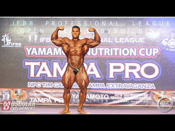 Hassan Mostafa Posing Routine 5th in Open 2019 Tampa Pro