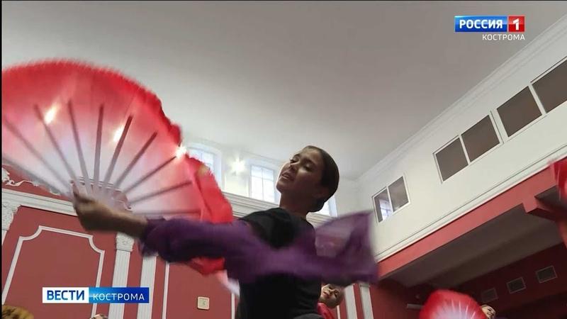 Артистки балета Кострома научились кокетливому китайскому взгляду