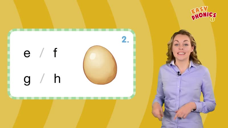 Easy Phonics 1 (Unit 2 Ee, Ff, Gg, Hh ) - Phonics for Kids - Alphabet - Learn to Read