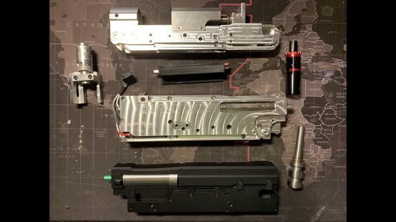 Обзор гирбоксов для м249/пкм. 2 часть.