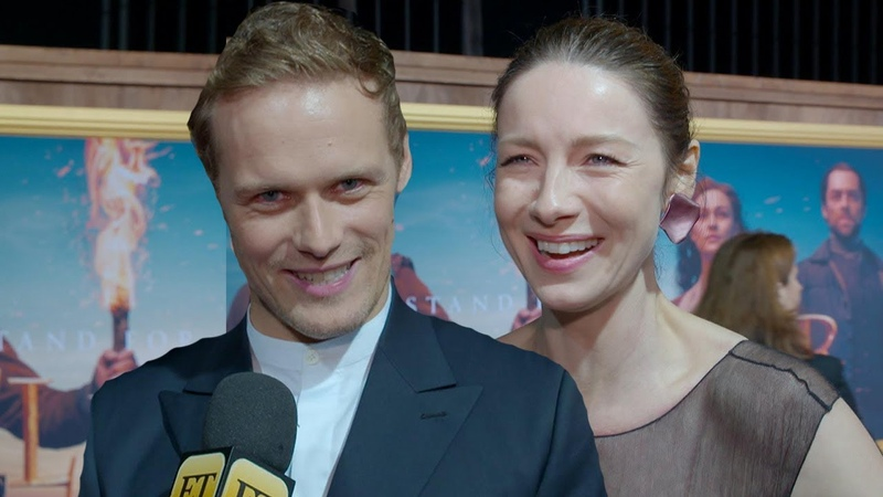 'Outlander' Stars Spill Season 5 Secrets in New Wedding Game Something Old New Borrowed Blue