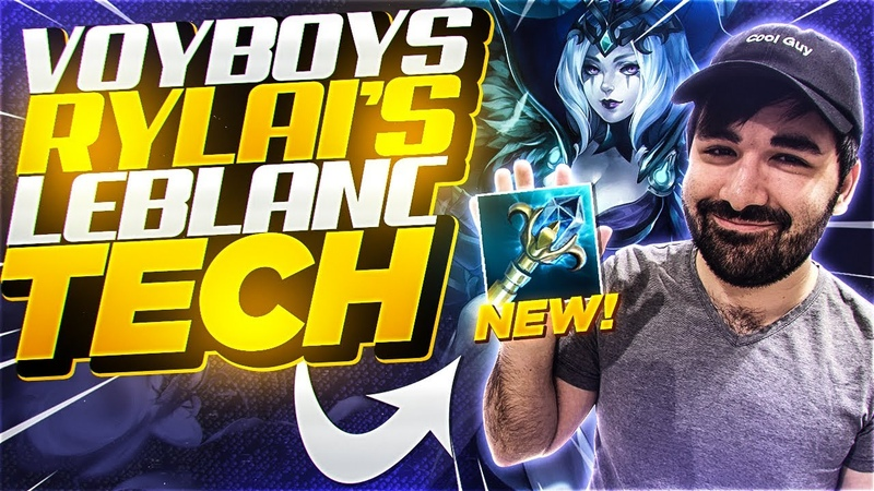 Voyboy told me to try his *NEW* Rylai's Leblanc Tech and it is BROKEN