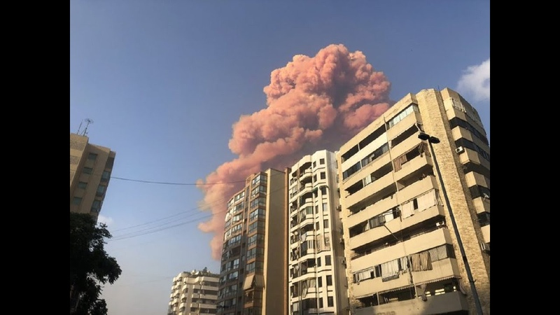 Потужний вибух у Бейруті ударна хвиля пошкодила пів міста