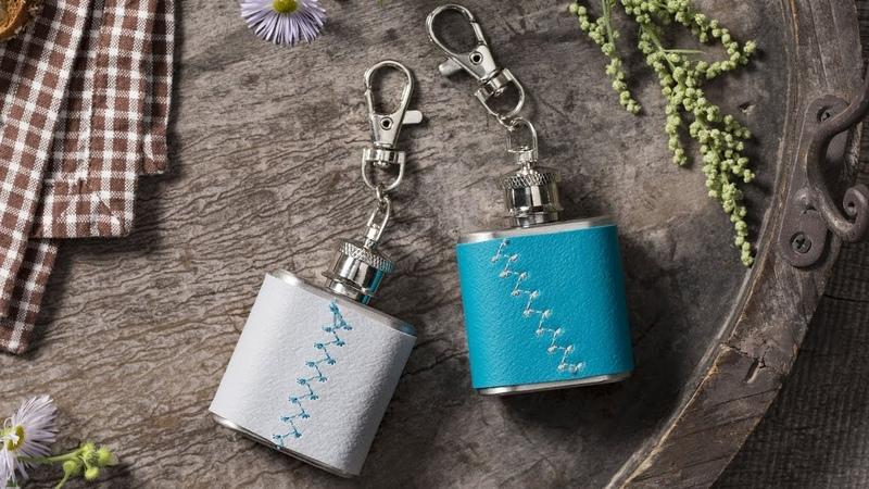 FIMO leather effect Mini flask ▪ DIY STAEDTLER