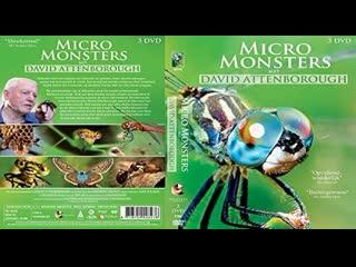 Микромонстры 3D с Дэвидом Аттенборо (6 серий) / Micro Monsters 3D (2013) HD 720р. Перевод: #ДиоНиК
