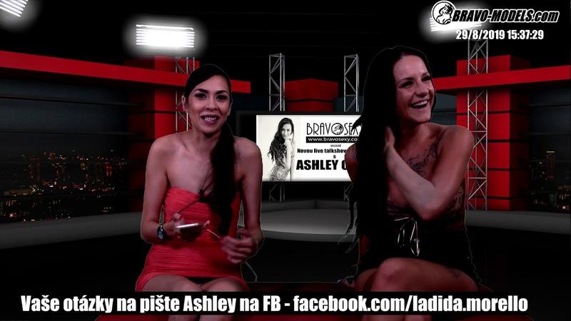 BravoSexy talk show live s Ashley Ocean 29 08 2019 Host pornoherecka BARBIE ESM