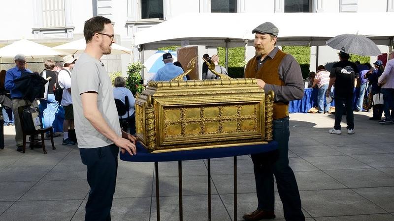Crocker Art Museum Hour 2 1981 Raiders of the Lost Ark Prototype ANTIQUES ROADSHOW PBS