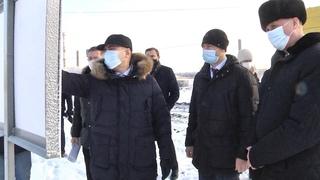 Визит губернатора В. Шумкова в Шадринск.