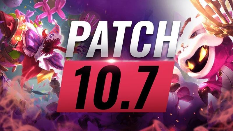 Best Champions TIER List League of Legends Patch 10 7