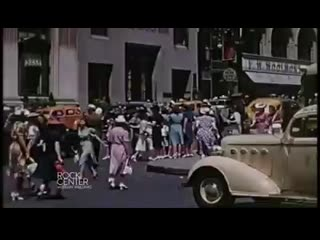 Extraordinary color film surfaces of nyc in 1939 watch an extraordinary color film showing a tour of new york city in the summer