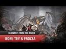🛸Буратино переросток Прохождение Remnant coop Boni Tey Frozza 3 1