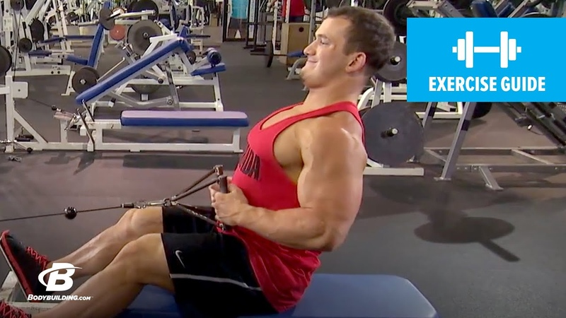 How to Seated Cable Row with Hunter Labrada | Exercise Guide
