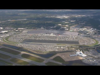 Chopper Camera - Daytona - Round 01 - 2020 NASCAR Cup Series - Часть 1