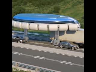 Koнцeпт oбщественного транспорта будущего
