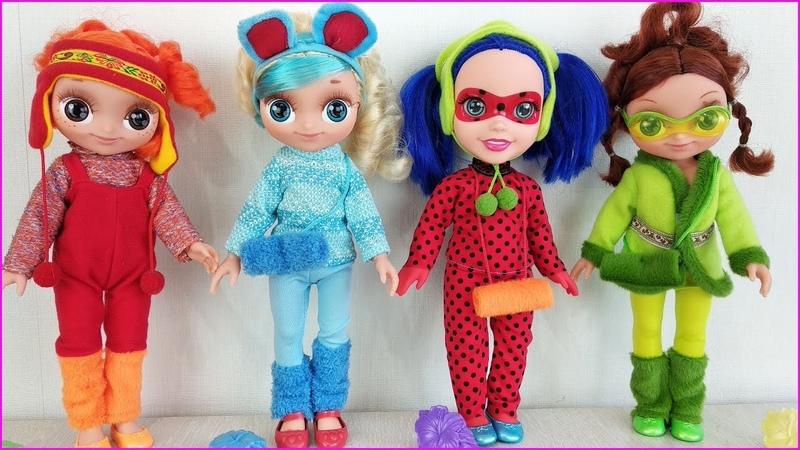 КУКЛЫ Сказочный Патруль и Леди Баг ПОДРУЖИЛИСЬ! Поменялись ОДЕЖДОЙ! Мультики с игрушками для детей