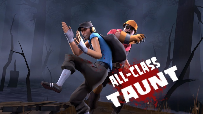 The Scaredy cat! TF2 Workshop Taunt