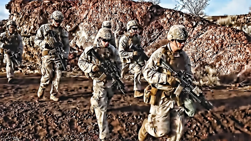 Marines Are Trained To Rush Toward Danger Embrace The Suck