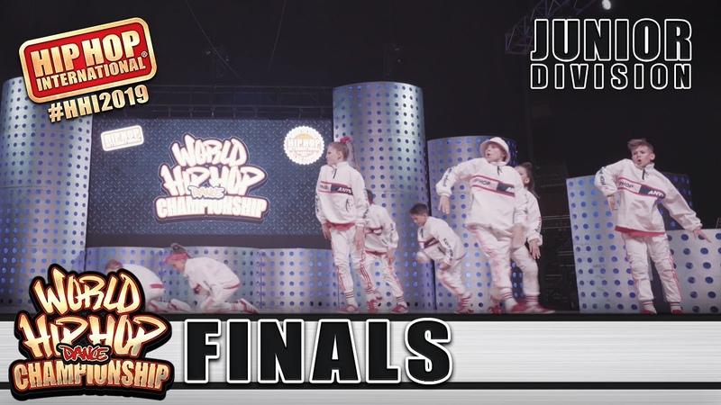 UpClose: UMKA Strike - Russia (Junior) | HHI 2019 World Hip Hop Dance Championship Finals