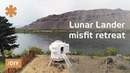 Boatbuilder recreates Apollo Lunar Lander as misfit retreat