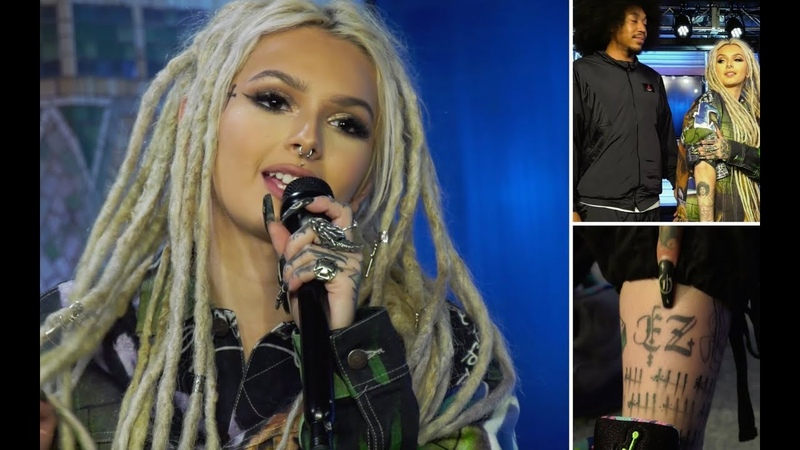 ZHAVIA WARD reveals new tattoo in '17' and explains why her boyfriend earned ink as well