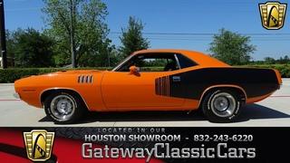 1971 Plymouth cuda Gateway Classic Cars 1212 Houston Showroom