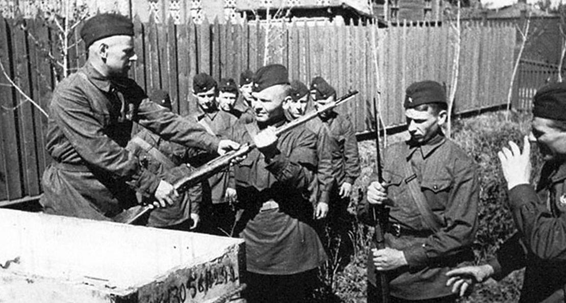 Бойцы РККА