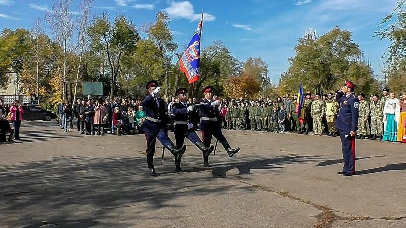 Волжские казаки отметили Престольный праздник